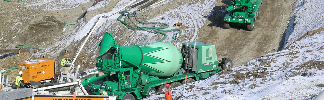 Our Mixers | Ohio Concrete Mixer | Ernst Concrete